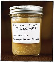 Coconut Lime Preserv