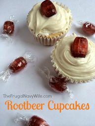 Rootbeer Cupcakes Re