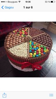 Gâteau de gourmandis