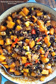 Butternut Quinoa {Ve