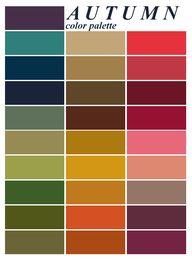 Autumn palette.  Fro
