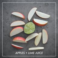 Apples + Lime Juice