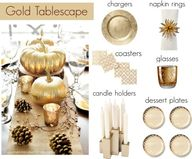Gold Thanksgiving #p