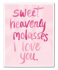 Sweet heavenly molas