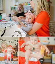 Halloween crafting f