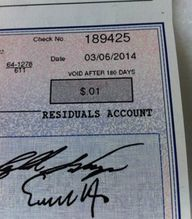 This Royalty Check L