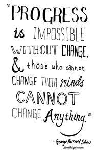 Progress is impossib