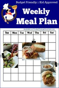 Weekly Meal Plan | B