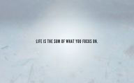 Life is the sum of w