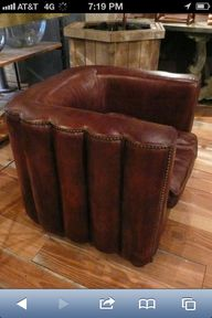 Leather chair lust!