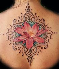beautiful back tatto