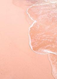 Pink sand beach in B