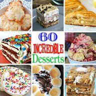 60 Incredible Desser