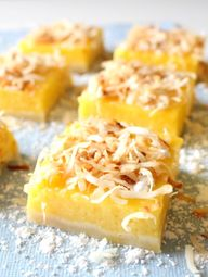 Mango Lemon Bars wit