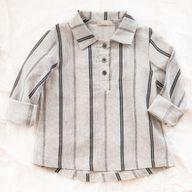 talc stripe shirt