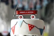 Radio Flyer Cake Top