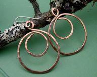 Big Copper Hoop Swir...