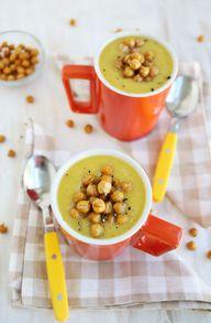 Acorn squash soup +