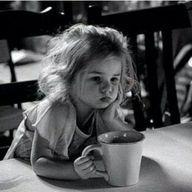 girl in the morning