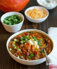 Pumpkin chilli recip