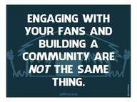 A community isn't a