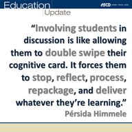 """Involving students"
