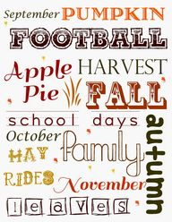 Celebrate Fall with