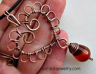 Wired Copper Heart N