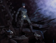 The Bat-Man by jsun...