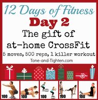 12 Days of Fitness D