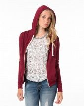 Zip up hoodie from A