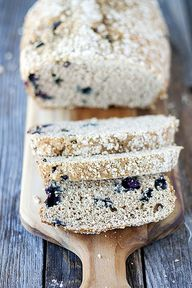 blueberry bread with