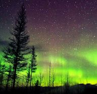 Northern lights in G