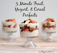 5 Minute Fruit, Yogu