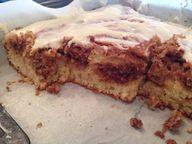 Cinnamon Bun Cake! A