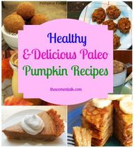Paleo Pumpkin Recipe