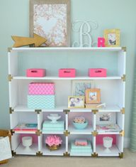 Office cubby makeove
