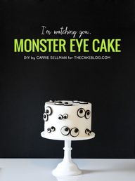 Easy Monster Eye Cak