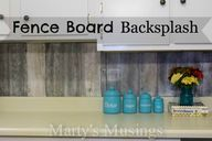 Fence Board Backspla