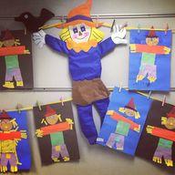 Preschool scarecrow