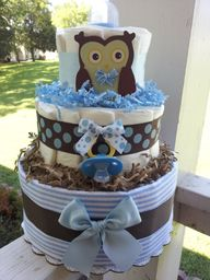 OWL 3 Tier diaper ca