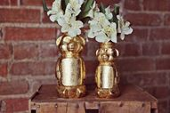 Gold Honey Bear Vase...