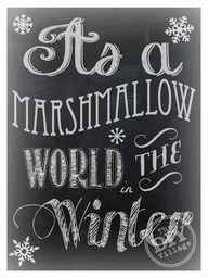 Marshmallow World Ch