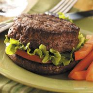 Stuffed Burgers on P