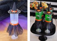 Witch push-up pops