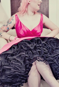 Pink Vintage Tea Len