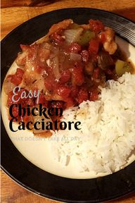 Easy chicken cacciat