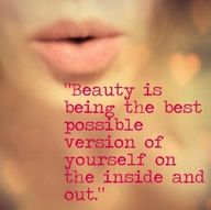 beauty...inside and