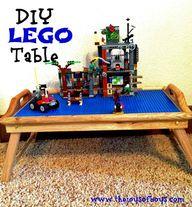 DIY LEGO Table - Thi