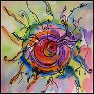 Sharpie & Watercolor...